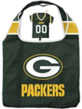 Duck House NFL Bag in Pouch | Reusable Polyester Shopping Grocery Bags | Heavy Duty | Foldable | Lightweight