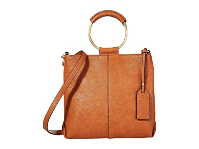 SOLE / SOCIETY Duff Crossbody (Cognac) Handbags