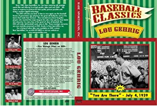 Baseball Classics Lou Gehrig In a League by Himself + 4 more films