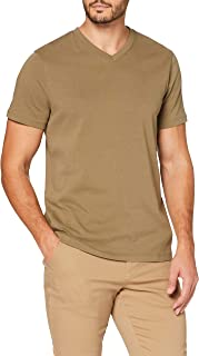 MERAKI T- Shirt Slim Col Ras du Cou Homme, Coton Organique