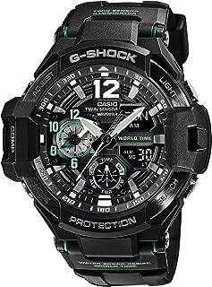Casio G-Shock Gravitymaster Analogue/Digital Black/Green Mens Watch GA1100-1A3 GA-1100-1A3DR
