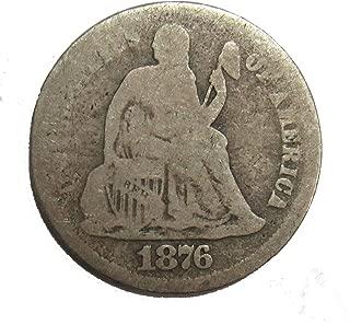 1876 s dime