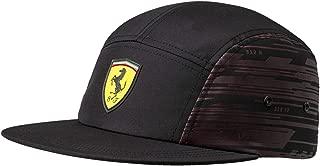 Mens Ferrari Transform Hat Cap, Black, One Size