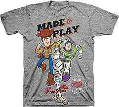 IML Boys Toy Story T-Shirt - Buzz Lightyear Sherrif Woody Tee | Choose from 5 Designs