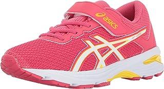 ASICS Gt-1000 6 Ps 儿童跑步鞋 Rouge 红色/白色/黄色 1 M US 儿童