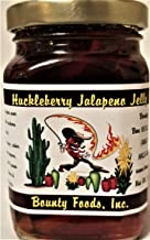 Montana Huckleberry Jalapeno Jelly Breakfast - Essential 9 oz Jar from Bounty Foods is Vegan Friendly | Gluten-Free | Non-GMO Great for Making Pop Tarts - Toppings - Desserts - Toast (HKJJ-M) …