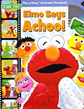 Sesame Street: Elmo Says Achoo! (book with animated DVD) (Play-a-Story Animated Storybook)