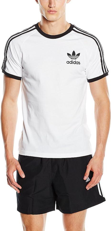 Desviar Kilimanjaro apilar  adidas California Short Sleeved T-Shirt: adidas Originals: Amazon.co.uk:  Sports & Outdoors