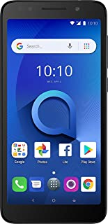 """Alcatel 1X Unlocked Smartphone (AT&T/T-Mobile) - 5.3"""" 18:9 Display, Android Oreo (Go Edition), 8MP Rear Camera, 4G LTE - D..."""