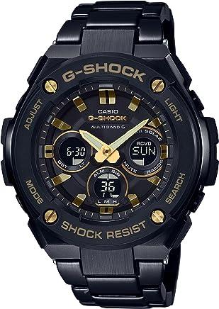 [カシオ]CASIO 腕時計 G-SHOCK ジーショック G-STEEL 電波ソーラー GST-W300BD-1AJF メンズ