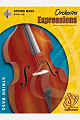 Orchestra Expressions, Book One Student Edition: String Bass, Book & CD Paperback