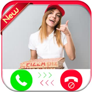 Pizza Delivery Woman Calling You - Free Fake Phone Caller ID PRO - PRANK 2018