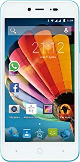 Mediacom PhonePad Duo G515 SIM Doble 8GB Azul, Color Blanco - Smartphone (12,7 cm (5