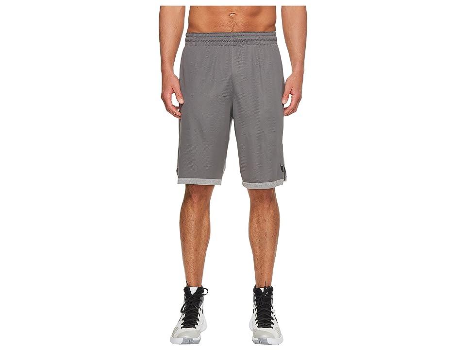 Nike Dry Dribble Drive Basketball Short (Gunsmoke/Black) Men