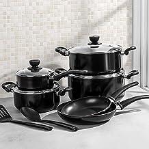 Alberto Non Stick Cookware Set 12 Pieces Black, 100033249