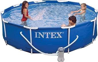 Intex Metal Frame Pool Set, 10-Feet x 30-Inch (Renewed)