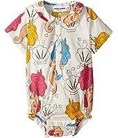 mini rodini - Seahorse Woven Bodysuit (Infant)