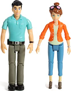 Beverly Hills Doll Collection TM Sweet Li'l Family Set of 2 Action Figure Set- Mom and Dad