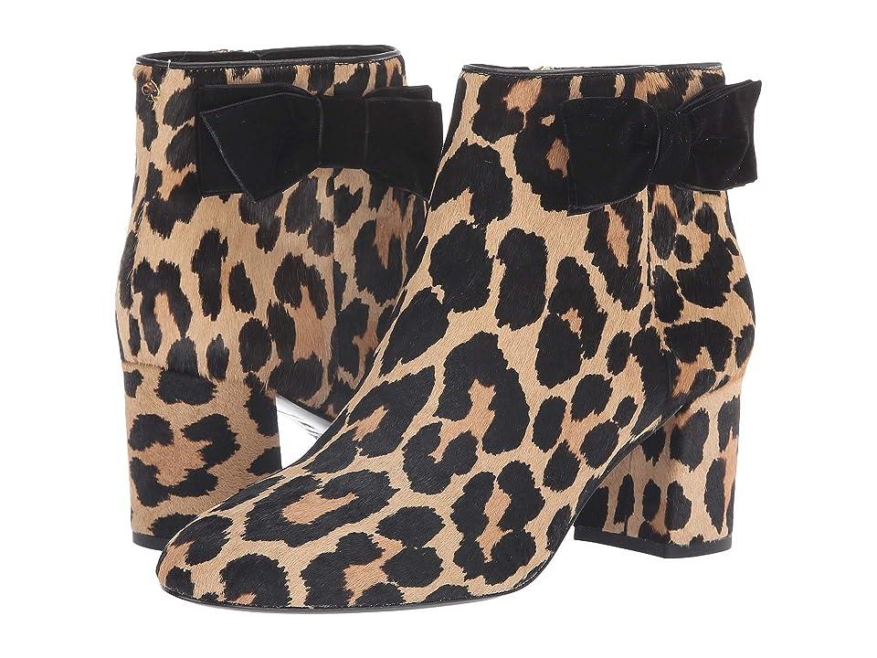 Kate Spade New York Holly (Black/Amaretto Leopard Print Haircalf) Women