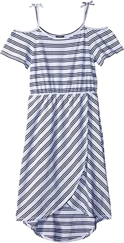 Yarn-Dye Stripe Maxi Dress (Big Kids)