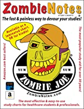 Zombie Notes BLS and CPR Terminology (laminated card)