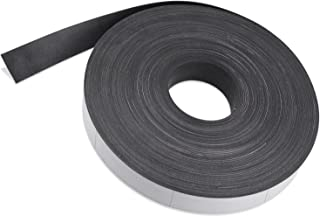 Flexible Magnet Strip with White Vinyl Coating, 1/32