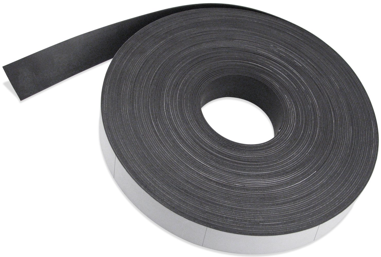 Master Magnetics Flexible Magnet Max 58% OFF Strip with Max 51% OFF Vinyl Coating White