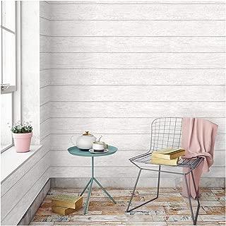 Devine Color Textured Shiplap Peel & Stick Wallpaper Mirage