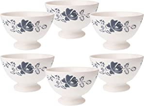 Kom Amsterdam 6X361813x 8cm Set of 6Medium Bowl–Rose Grey