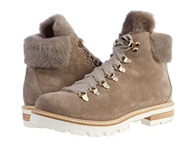 AGL Shearling Mountain Boot (Taupe) Women