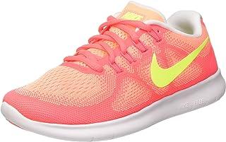 huge discount a445a 63696 Nike Women s Free RN 2017 Running Shoe (6.5, Sunset Glow)