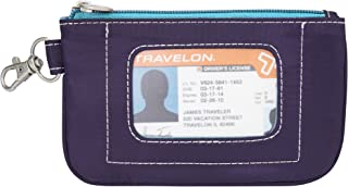 Travelon Safe Daisy Id Pouch, Purple