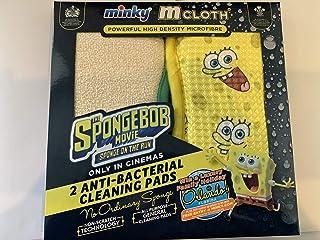 SUOL 2 almohadillas de limpieza antibacterianas Bob Esponja Película