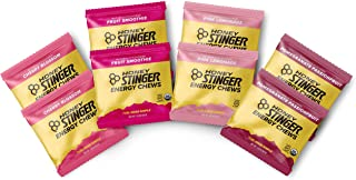 Honey Stinger Organic Energy Chews – Variety Pack with Sticker – 8 Count – Chewy Gummy Energy Source for Any Activity - Pi...