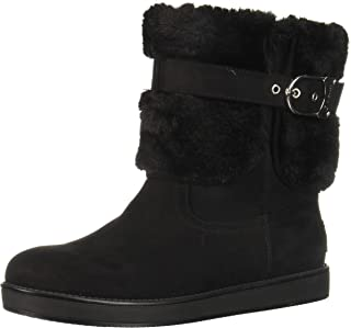 Womens Aussie Closed Toe Ankle Cold Weather Boots, Black,...