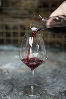 Luigi Bormioli Prestige/Regency Burgunder Wine Glass 4 Pieces Set, 610 ml