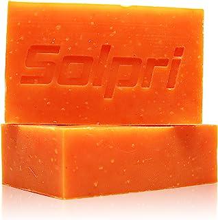 Solpri Shield Antifungal Soap Bar Lemongrass Tea Tree Eucalyptus 4 oz (2 Pack)