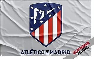 Atletico Madrid Flag Banner 3x5 Spain Futbol Soccer Bandera Gray