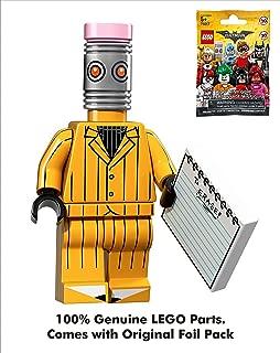 Batman DC Comics Lego Movie 001 Eraser(Man) Mini Blind Bag Figure_71017