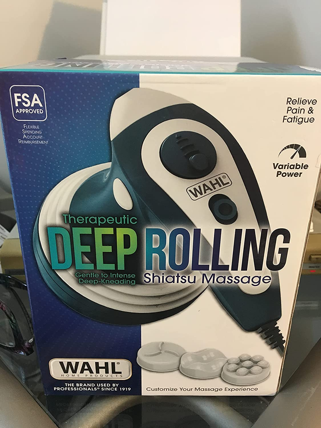 Therapeutic DEEP Rolling SHIATSU with 3 Massage ATTACHMENTS High order Los Angeles Mall