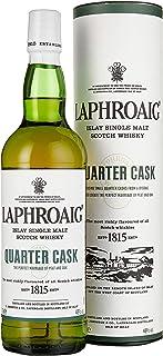 Laphroaig Quarter Cask Islay Single Malt Scotch Whisky, mit Geschenkverpackung, in Quarter Casks gereift, 48% Vol, 1 x 0,7l