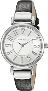 Women's Easy to Read -Tone Leather Strap Watch