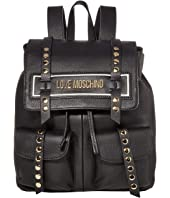 LOVE Moschino - Studded Logo Backpack