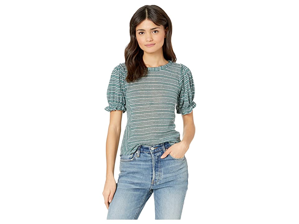 Free People Take One For The Team Tee (Turquoise) Women