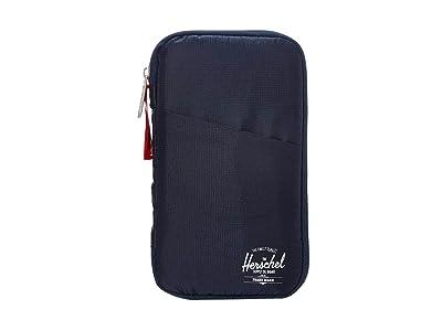 Herschel Supply Co. Travel Wallet (Navy/Red) Wallet Handbags