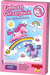 HABA A Sparkling Die Competition Unicorn Glitter Luck Cloud Crystals