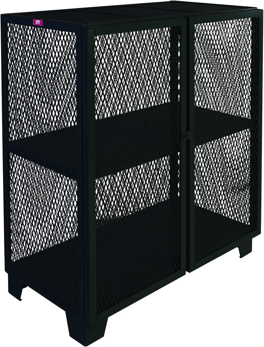 Jamco Products Inc MB460-BL Stationary Security Mesh Max 56% OFF 36 Max 87% OFF Cabinet