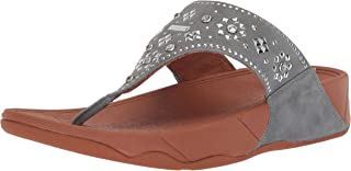 FitFlop Womens K50 Lulu Aztek Stud Toe-Thong Sandals - Suede