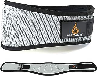 Fire Team Fit Cinturón de Levantamiento de Pesas para Soporte de Espalda Mientras levantas Pesas – cinturón para levantamientos de Peso y Sentadillas