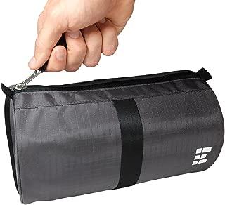 (One Size, Dark Shadow) - Dopp Kit & Travel Toiletry Bag - Mens Wash Bag